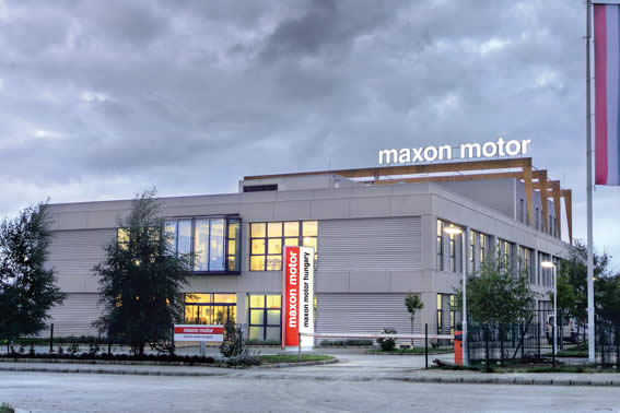 maxon - The factory in Veszprém, Hungary