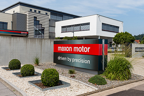 maxon - The manufacturing site in Sexau,Germany