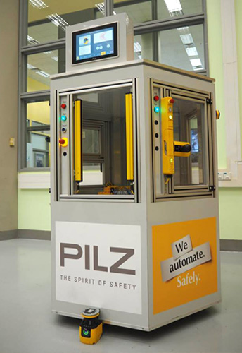 Safety Gate System Demo was featured in the guided tour of NYP 4 Centre of Excellence