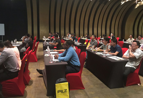 Spirit of Safety Seminar (SoSS) by PILZ & Servo Engineering Sdn Bhd ( Selangor ) held at the Empire Hotel