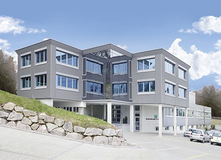 2012 - Completion of the new office building for Eichenberger Gewinde AG