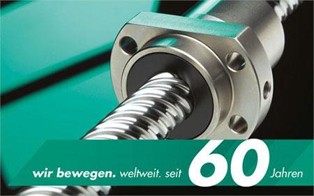 2013 - Company's diamond jubilee – 60 years Eichenberger Gewinde AG
