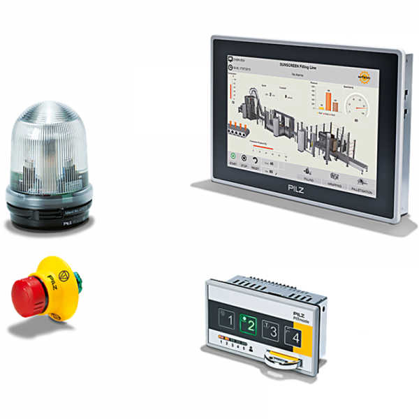 Pilz - Control & Signal Devices // Operator Devices / Terminals