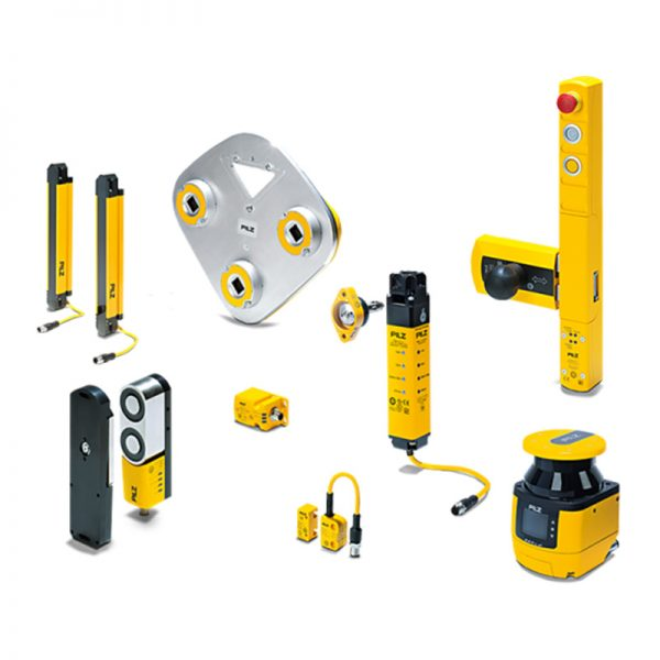 Pilz - Safety Switches // Safety Gate Systems // Optoelectronic Sensors // Safe Camera Systems // Tactile Sensors